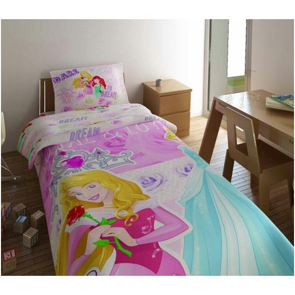 Κουβέρτα Πικέ Μονή (σετ) Limneos Disney Princess Royal