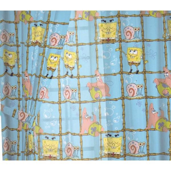 Κουρτίνα Παιδική Kentia 01C Sponge Bob