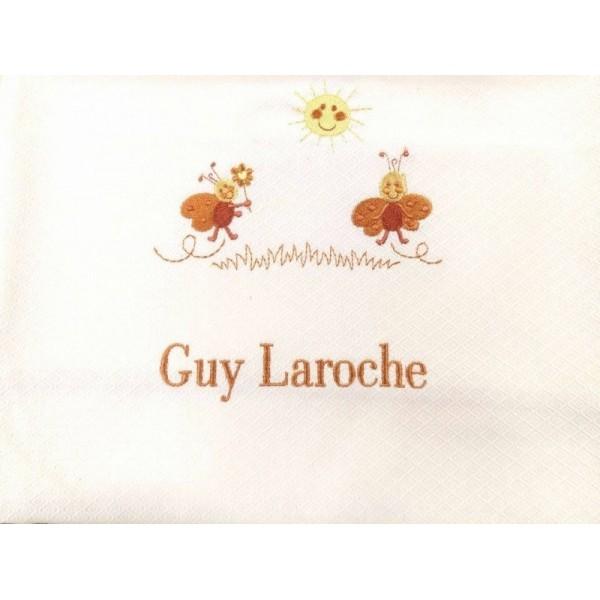 Κουβέρτα Πικέ Λίκνου Guy Laroche Bebe 604