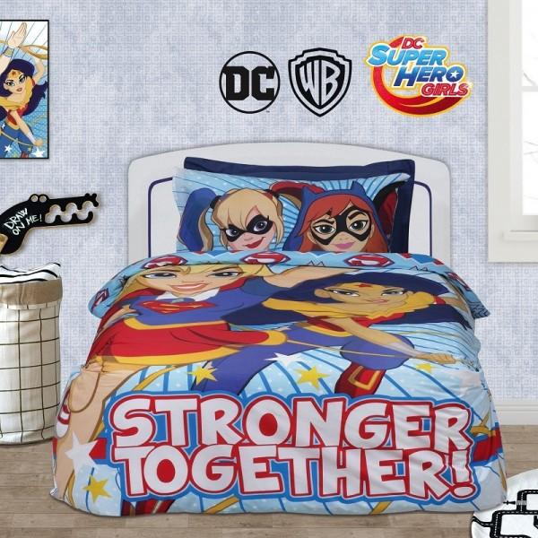 Σεντόνια Μονά (σετ) Das Home 5005 Super Hero Girls