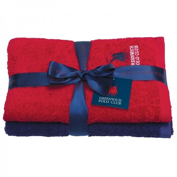 Πετσέτες (σετ) 2 Τεμαχίων Polo Club 2508