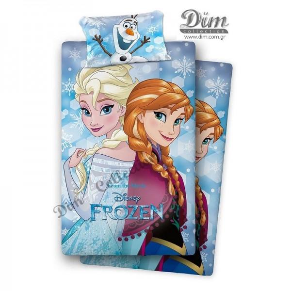 Πάπλωμα Μονό 2 Όψεων Dim Collection Disney Frozen 500