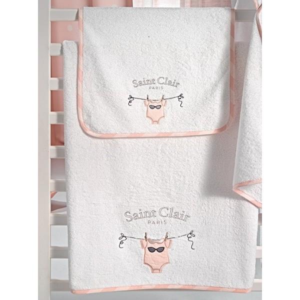 Πετσέτες (σετ) Saint Clair Audrey
