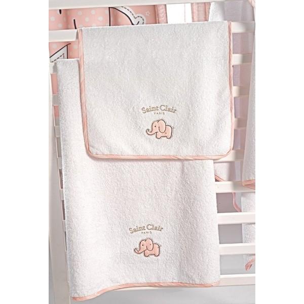Πετσέτες (σετ) Saint Clair Africa Pink