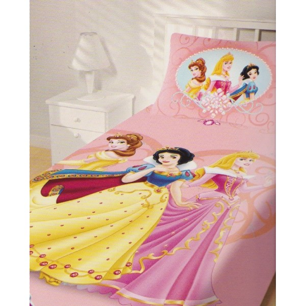 Κουβέρτα Πικέ Μονή (σετ) Limneos Disney Princess Dream