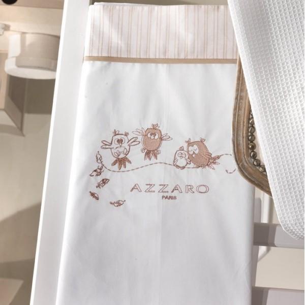 Σεντόνια Κούνιας (σετ) Azzaro Funny Birds