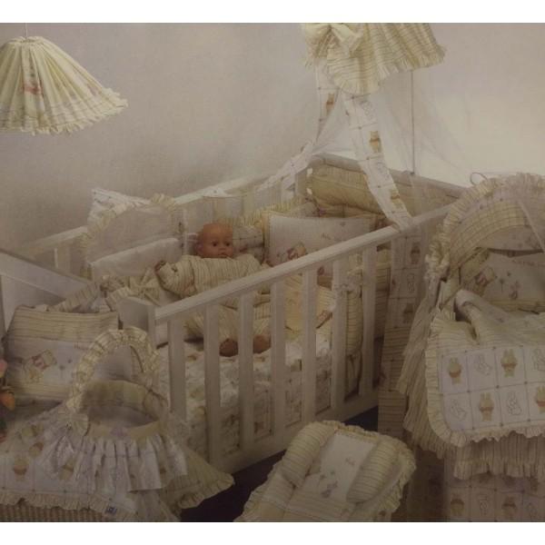 Σεντόνια Κούνιας (σετ) Limneos Winnie Baby