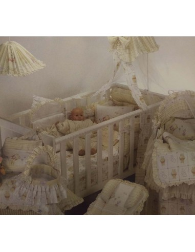 01cf49f2e5b Σεντόνια Κούνιας (σετ) Limneos Winnie Baby-Limneos