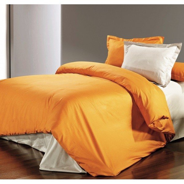 Σεντόνι Μεμονωμένο Υπέρδιπλο Pierre Cardin Colours Mango