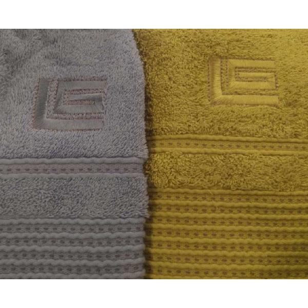 Πετσέτες (σετ) 2 Τεμαχίων Guy Laroche Serena Grey-Green