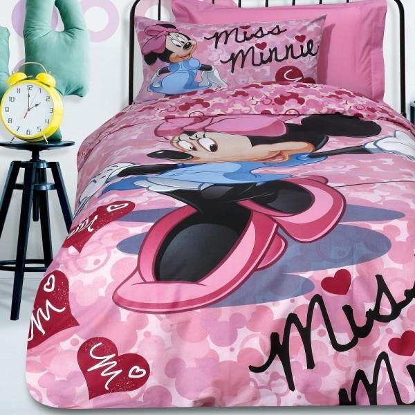 Κουβερλί Μονό (σετ) Das Home Disney Minnie 5014