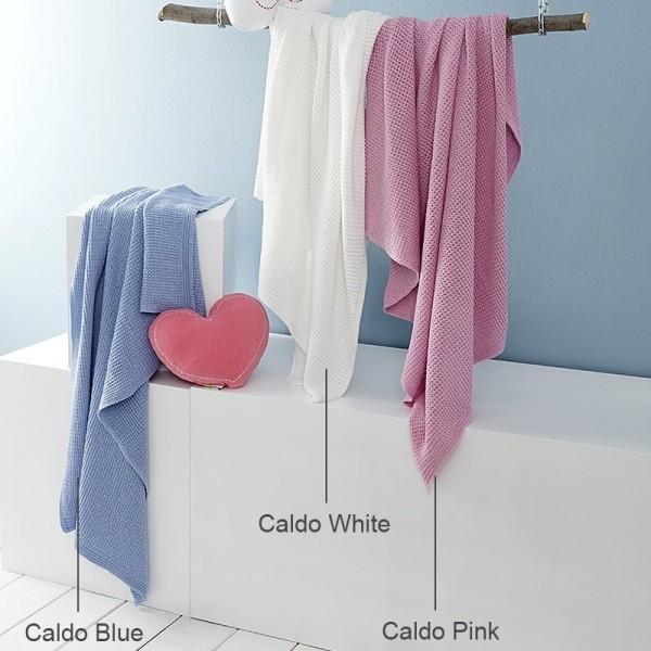 Κουβέρτα Πλεκτή Κούνιας Nima Home Caldo