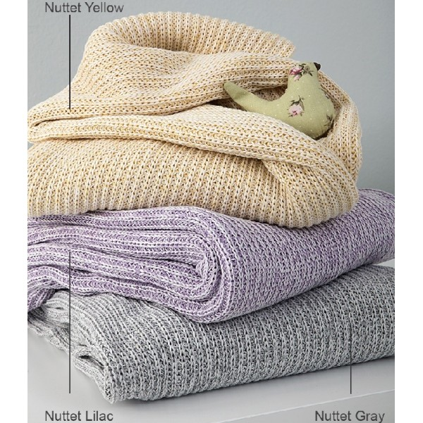 Κουβέρτα Πλεκτή Κούνιας Nima Home Nuttet