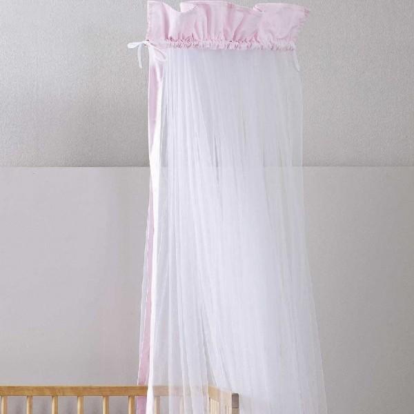 Κουνουπιέρα Nima Home Nappy Pink