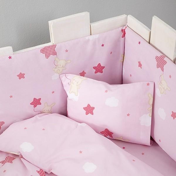 Πάντα Κούνιας Nima Home Baby Star Pink