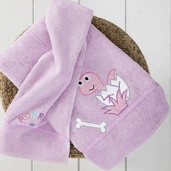 Πετσέτες (σετ) Nima Home Baby Roar Lilac