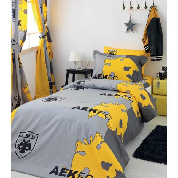 Κουβερλί Μονό (σετ) Palamaiki AEK FC2