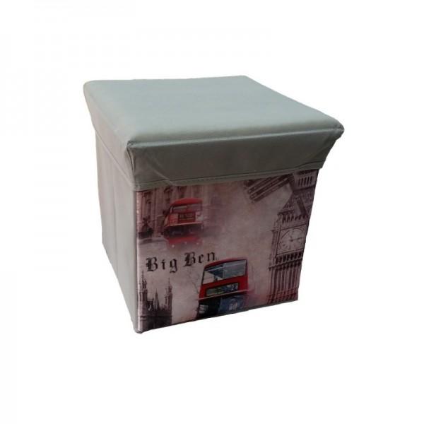 Κουτί Αποθήκευσης - Σκαμπό Πτυσσόμενο Big Ben