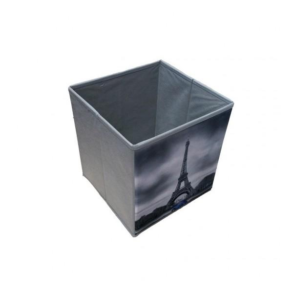 Κουτί Αποθήκευσης - Σκαμπό Πτυσσόμενο Paris