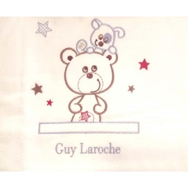 Κουβέρτα Πικέ Λίκνου Guy Laroche Bebe 630
