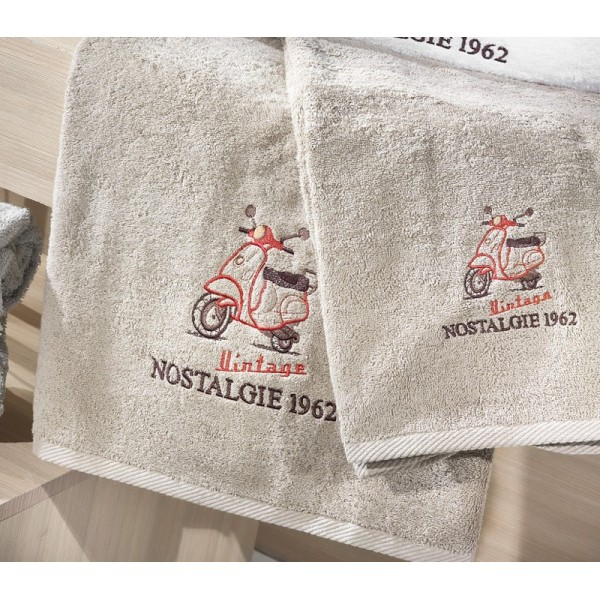 Πετσέτες (σετ) Nima Home Carte Postale 03