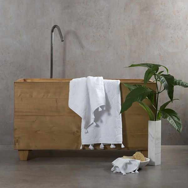 Πετσέτες (σετ) Nima Home Love White
