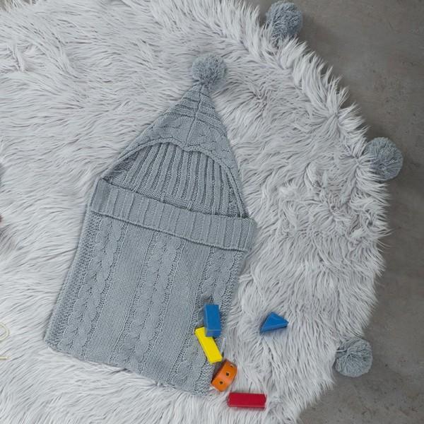 Στρογγυλό Χαλί Nima Home Fluffy Gray