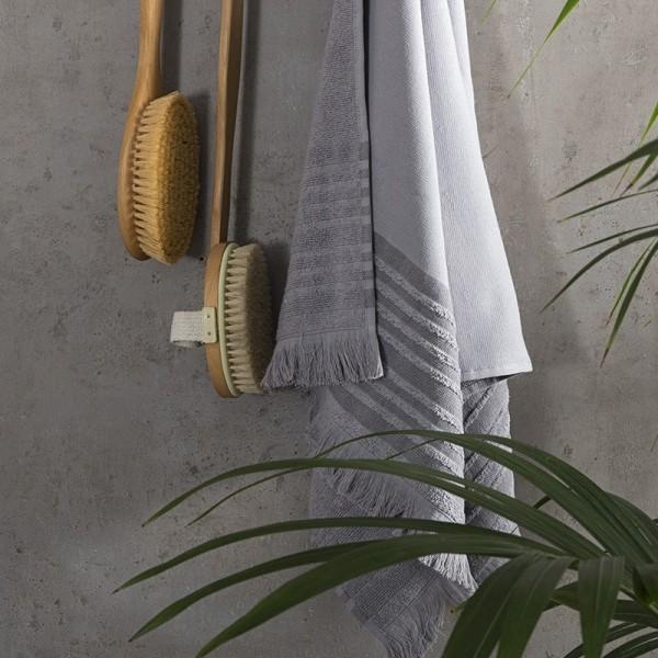 Πετσέτα Μπάνιου Nima Home Ray Gray