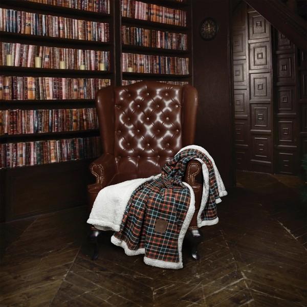 Κουβέρτα Fleece Καναπέ Polo Club 2434