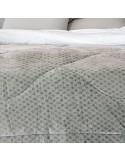 Κουβερτοπάπλωμα Υπέρδιπλο Palamaiki Celine Grey