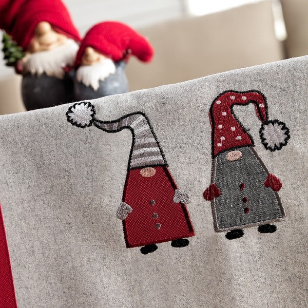 Χριστουγεννιάτικο Τραπεζομάντηλο (135Χ180) Gofis Home 833