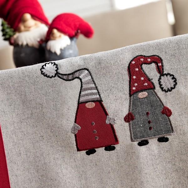 Χριστουγεννιάτικο Καρέ 85Χ85 Gofis Home 833