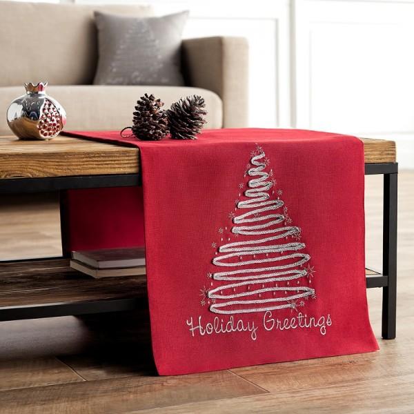 Χριστουγεννιάτικη Τραβέρσα 40Χ160 Gofis Home 231/02