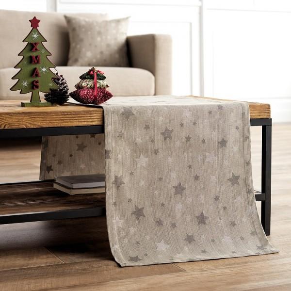 Χριστουγεννιάτικη Τραβέρσα 40Χ160 Gofis Home 901/04