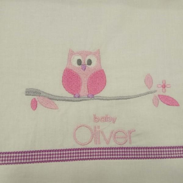 Σεντόνια Κούνιας (σετ) Baby Oliver 46-6706/630