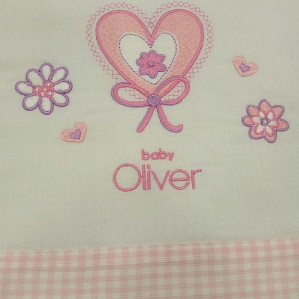 Σεντόνια Κούνιας (σετ) Baby Oliver 46-6706/611