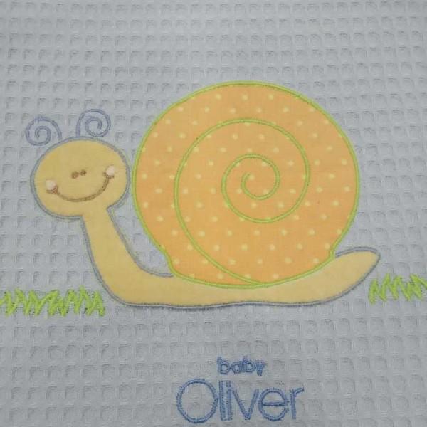 Κουβέρτα Πικέ Κούνιας Baby Oliver 46-6720/612