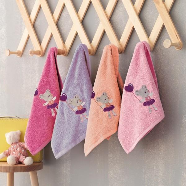 Πετσέτες (σετ) 4 Τεμαχίων Ballarina