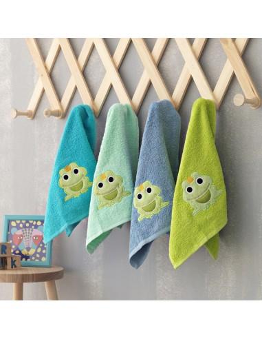 Πετσέτες (σετ) 4 Τεμαχίων Frog/2