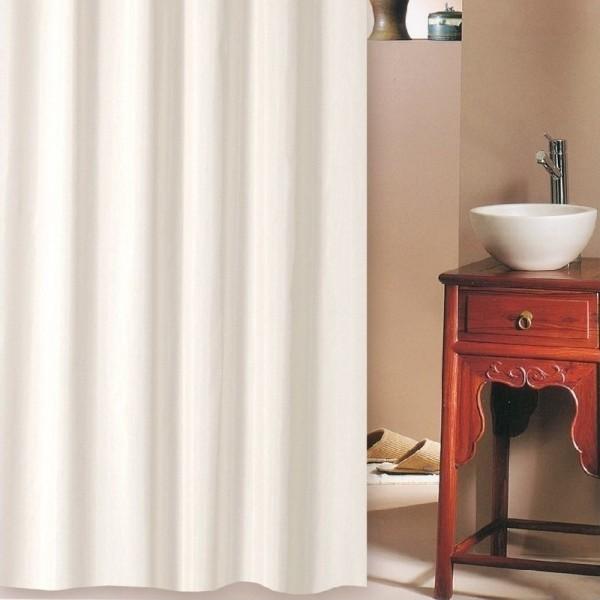 Κουρτίνα Μπάνιου Υφασμάτινη (240Χ200) San Lorentzo Solid Beige