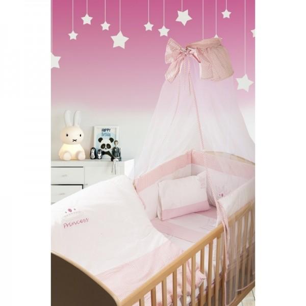 Σετ Προίκας 7 Τεμαχίων Dim Collection Princess Λευκό - Ροζ 33