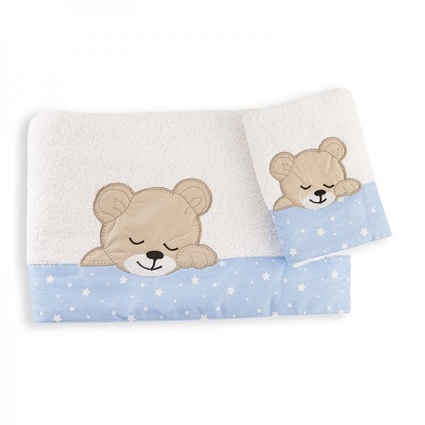 Πετσέτες (σετ) Dim Collection Sleeping Bear Cub 11