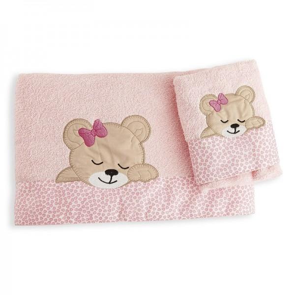 Πετσέτες (σετ) Dim Collection Sleeping Bear Cub 14