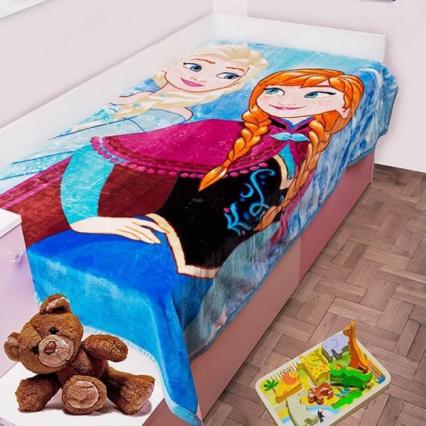 Κουβέρτα Βελουτέ Μονή Dim Collection Disney Frozen 501