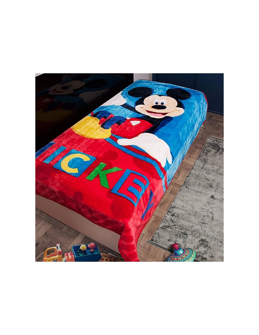 e0e3d51695b Κουβέρτα Βελουτέ Μονή Dim Collection Disney Mickey 561