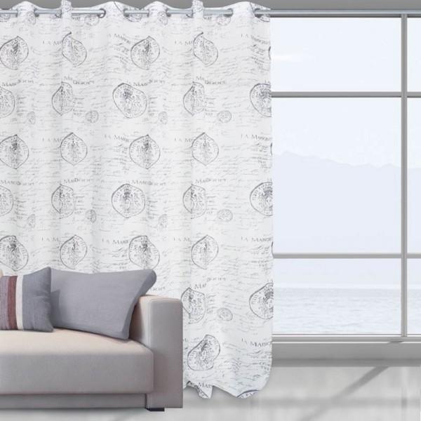 Κουρτίνα Με Τρουκς (140Χ280) Das Home 2030