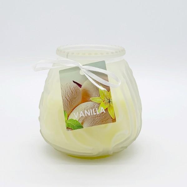 Κερί Αρωματικό Γυάλινο Ματ E-2009 Vanilla
