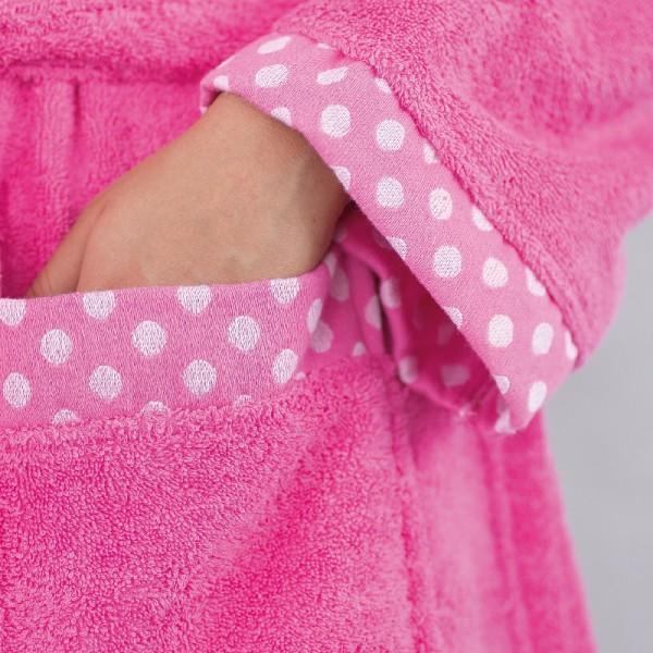 Μπουρνούζι Palamaiki Dots Pink