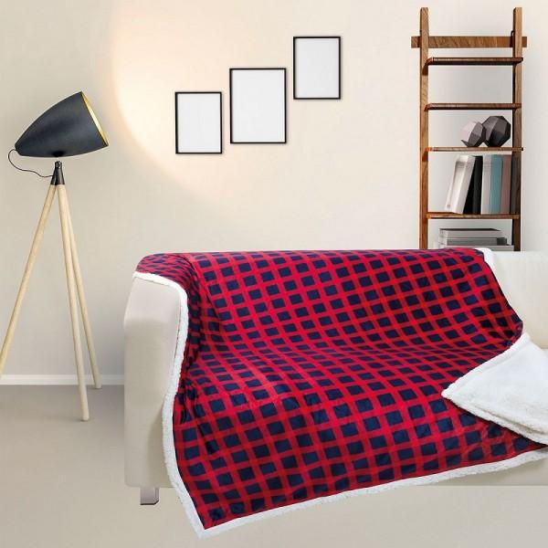 Κουβέρτα Fleece Καναπέ Das Home 369